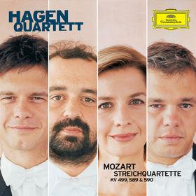 Wolfgang Amadeus Mozart, Streichquartette KV 499, KV 589, KV 590, 00028947750819