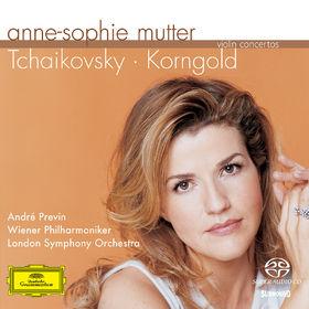 Anne-Sophie Mutter, Tchaikovsky / Korngold: Violin Concertos, 00028947451525