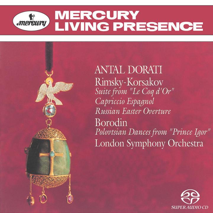 Rimsky-Korsakov: Le Coq D'Or; Capriccio Espagnol etc 0028947561941