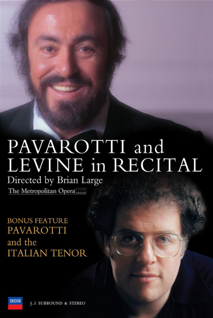 Pavarotti & Levine in Recital/Pavarotti & The Italian Tenor 0044007430712
