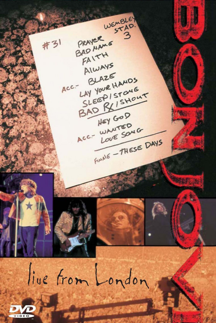 Bon Jovi - Live From London 0602498233638