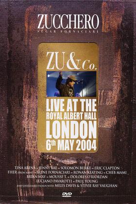 Zucchero, Zu & Co. - Live At The Royal Albert Hall, 00602498683743