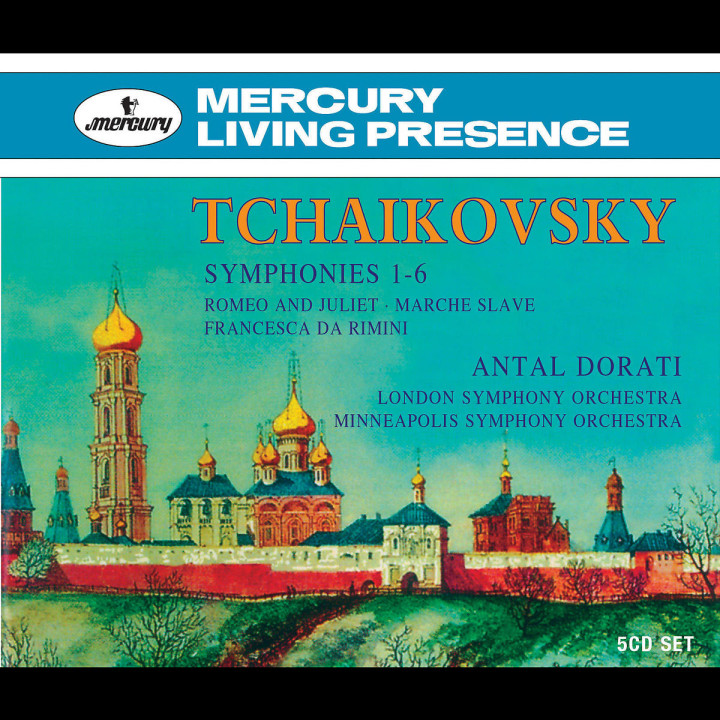 Dorati conducts Tchaikovsky 0028947562610
