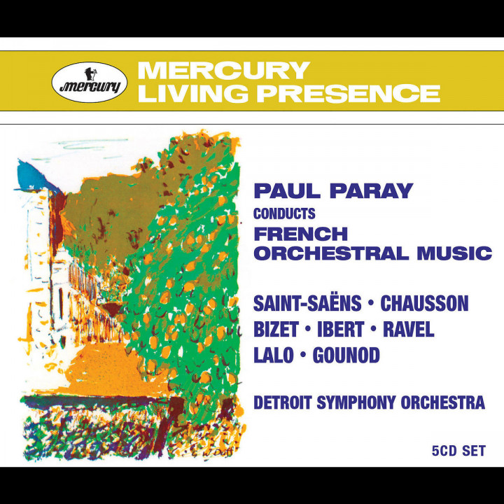 Paray Conducts French Orchestral Music 0028947562687