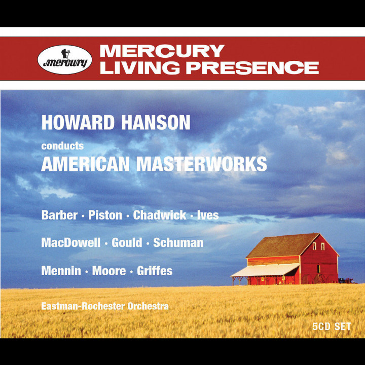 Howard Hanson dirigiert American Masterworks 0028947562746