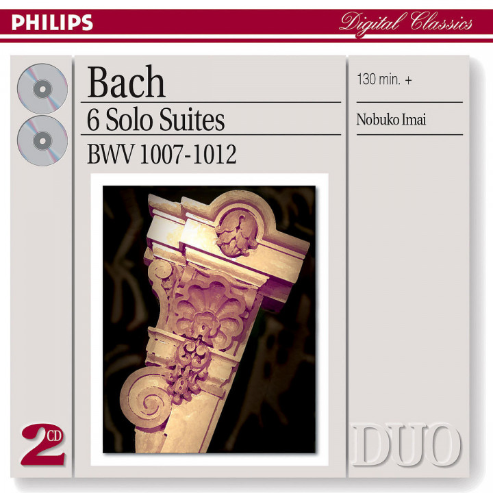 Bach, J.S.: Six Suites for Unaccompanied Cello (Transcribed For Viola) 0028947562193