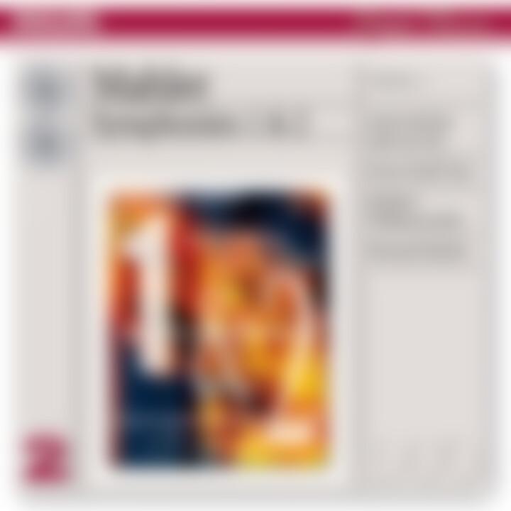 Mahler: Symphonies Nos.1 & 2 0028947562229