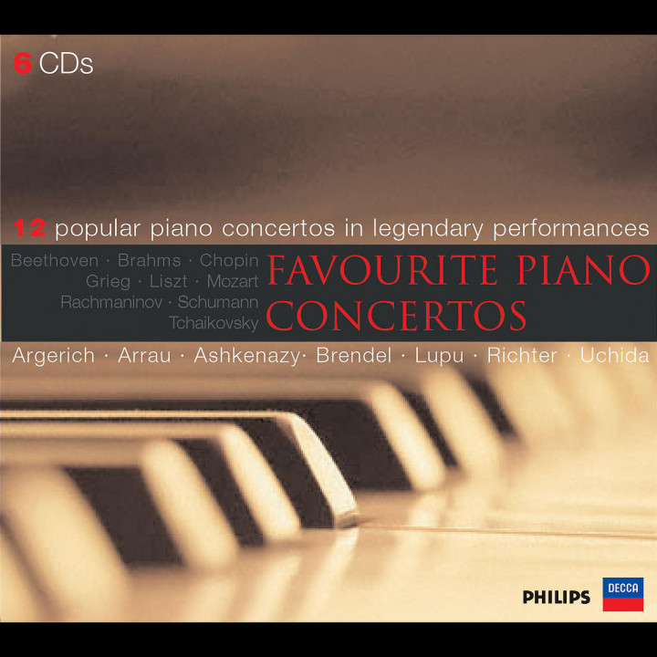 Berühmte Klavierkonzerte 0028947562436