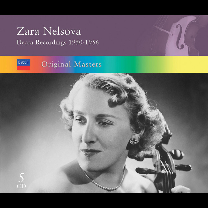 Zara Nelsova - Original Masters 0028947563275
