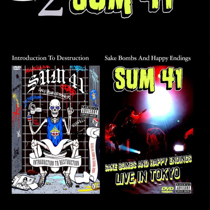 Sake Bombs and Happy Endings - Sum 41 Live In Tokyo 0602498179956