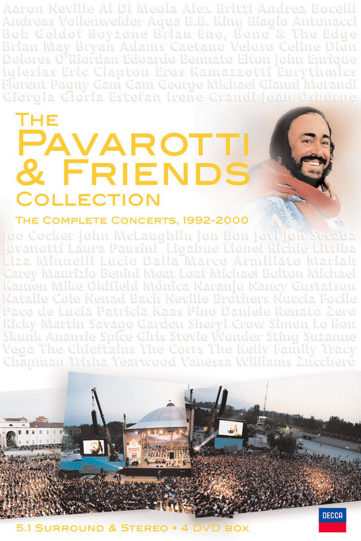 The Pavarotti & Friends Collection: The Complete Concerts 1992-2000 0044007416099