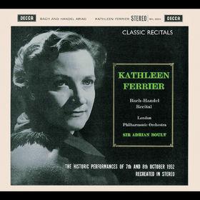 Kathleen Ferrier - Bach-Händel Recital, 00028947564119