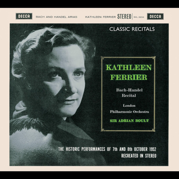 Kathleen Ferrier - Bach-Händel Recital 0028947564117