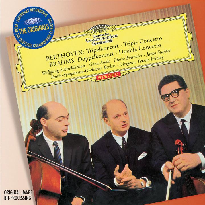 Beethoven: Triple Concerto / Brahms: Double Concerto 0028947753414