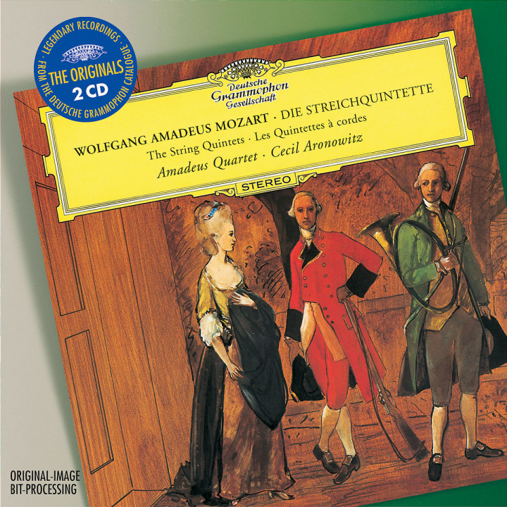 Mozart: The String Quintets 0028947753469