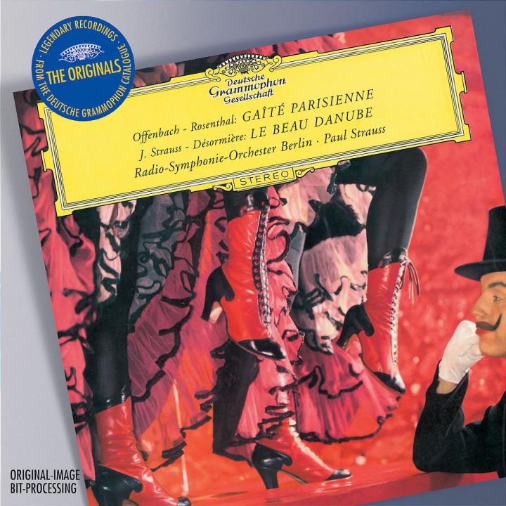 Offenbach: Gaite Parisienne; Strauss: Le Bue Danube 0028947753492