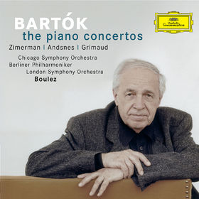 Béla Bartók, Bartók: The Piano Concertos, 00028947753308