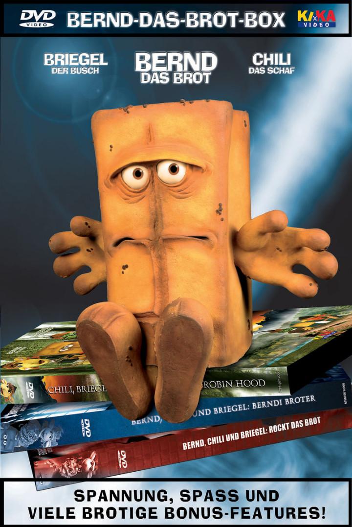 Bernd das Brot 3-DVD-Filmbox 0602498703210