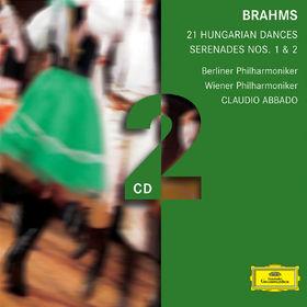 Johannes Brahms, Brahms: Serenades, Hungarian Dances, 00028947754244