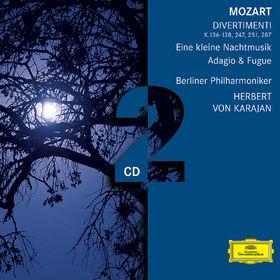 Wolfgang Amadeus Mozart, Mozart: Divertimenti, 00028947754367
