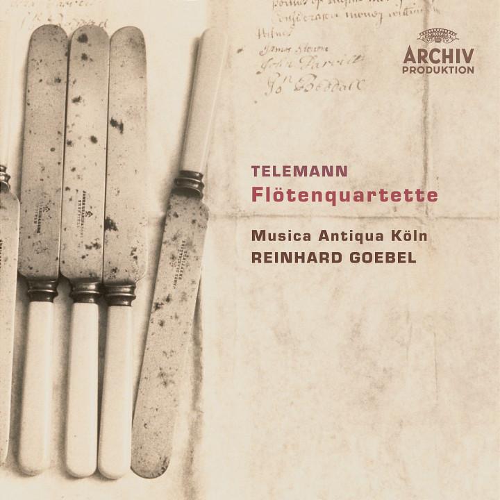 Telemann: Flute Quartets 0028947753791