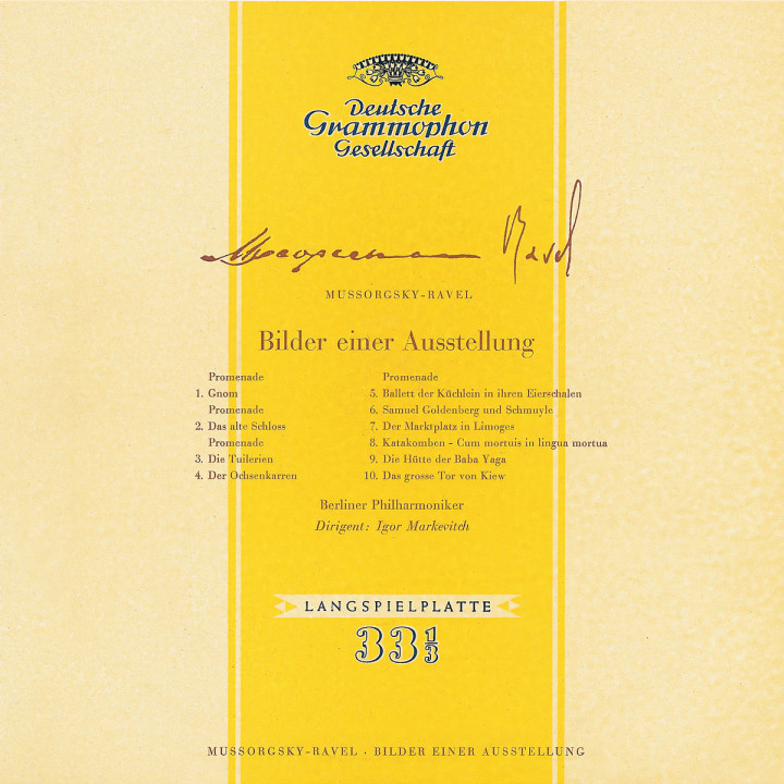 Mussorgsky: Pictures at an Exhibition / Rimsky-Korsakov: Overtures 0028947754792