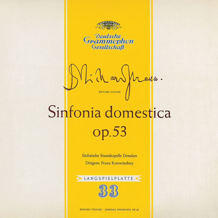 Sinfonia Domestica op.53 0028947754839