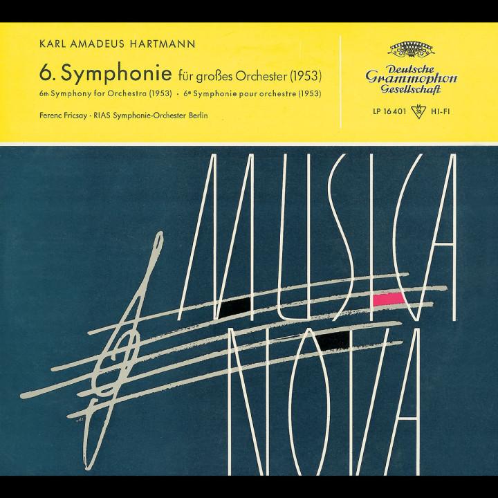 Hartmann: Symphony No.8 / Blacher: Paganini Variations 0028947754873