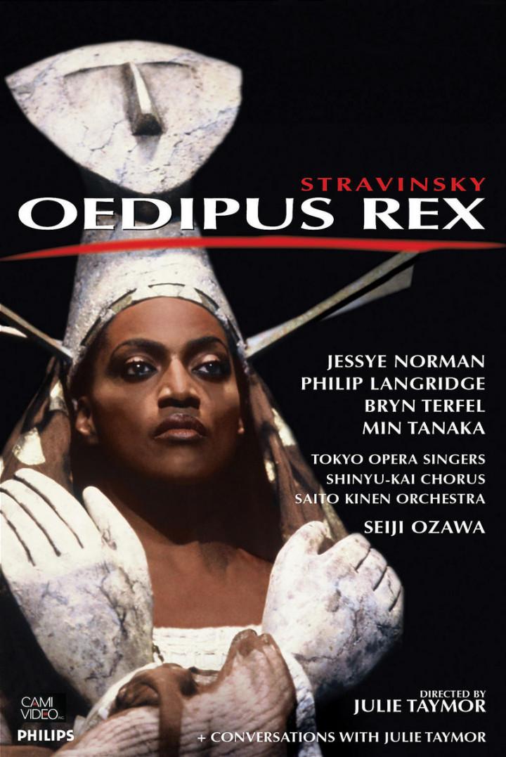 Stravinsky: Oedipus Rex 0044007430778