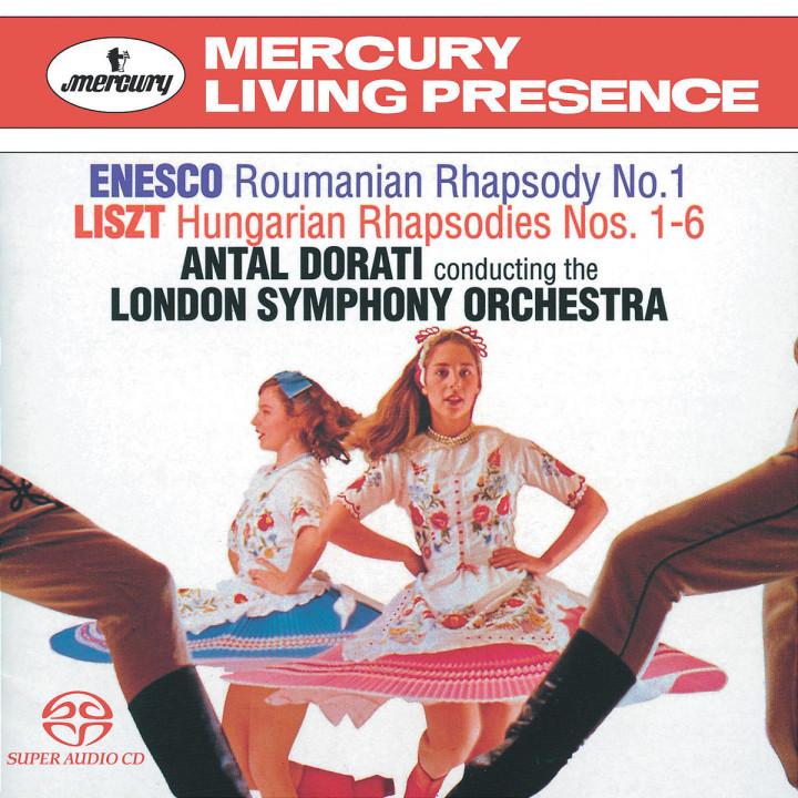 Enescu/Liszt Rhapsodies 0028947561859
