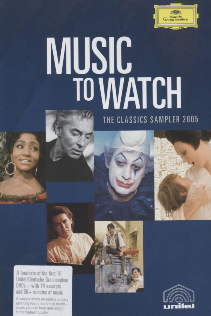 Music to watch - DVD Sampler Unitel Launch 2005 0044007340426