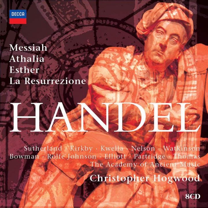 Hogwood conducts Handel Oratorios 0028947567316
