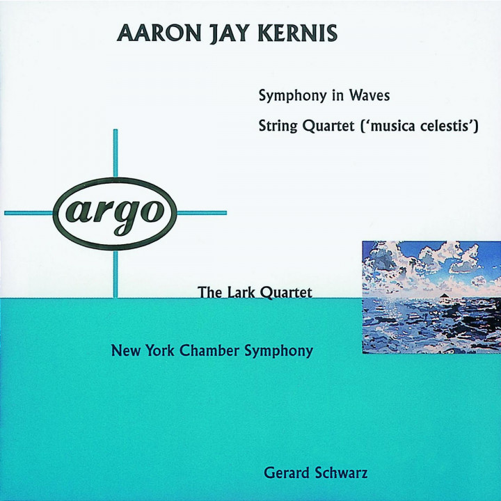 Kernis: Symphony In Waves; String Quartet 'Musica Celestis' 0028943628727