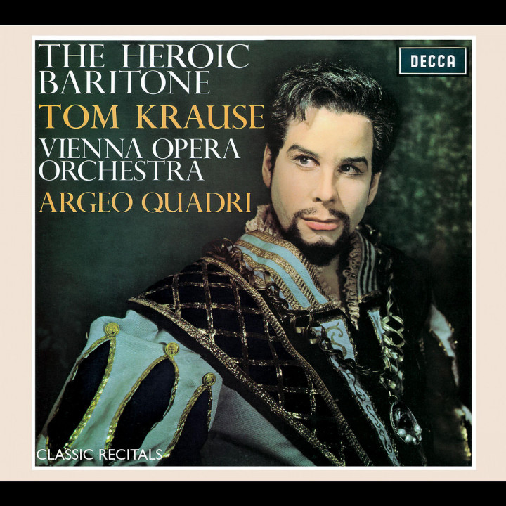 Classic Recitals: Tom Krause 0028947568144