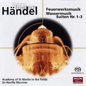 eloquence, Händel: Watermusic & Fireworks, 00028947678595