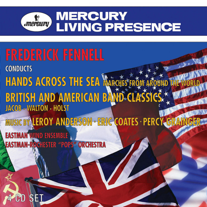 Hands Across The Sea; Marches From Around The World 0028947568513