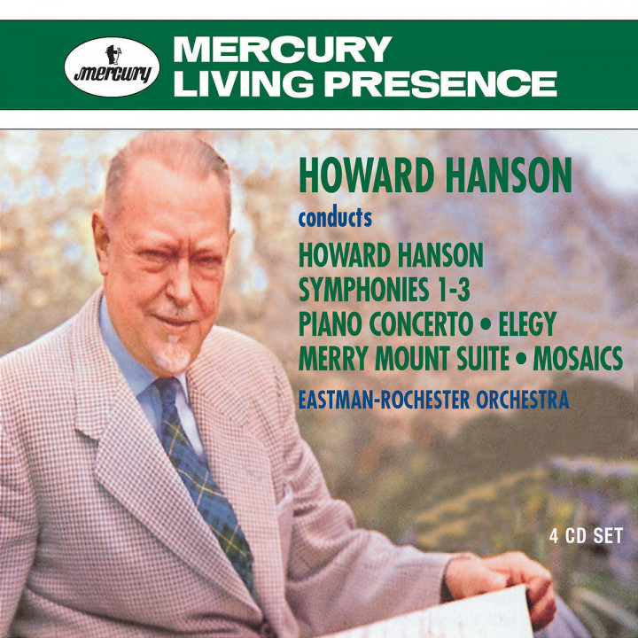 Howard Hanson conducts Howard Hanson 0028947568672