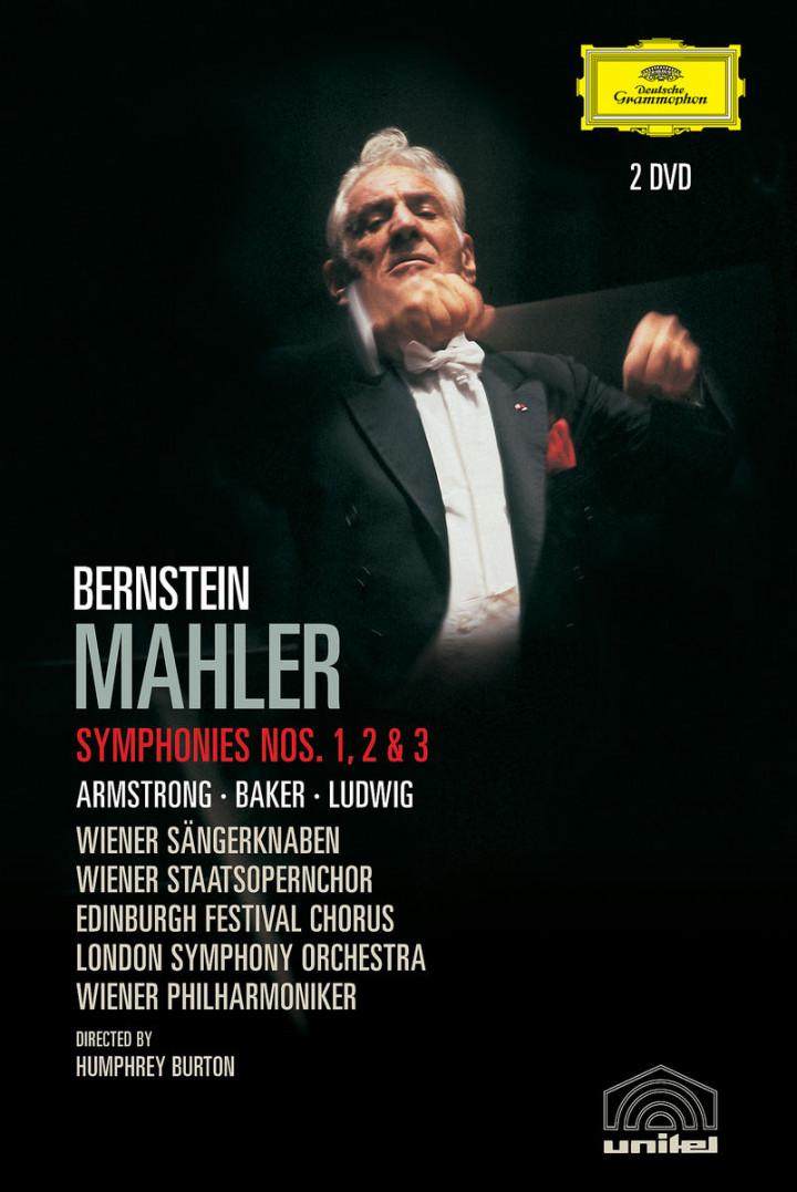 Mahler: Symphonies Nos. 1, 2 & 3 0044007340895
