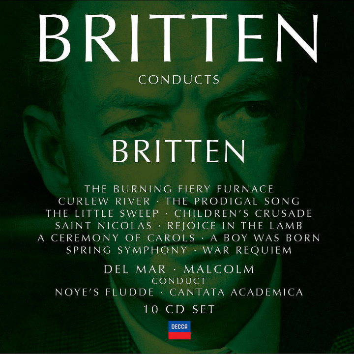 Britten conducts Britten Vol.3 0028947560401