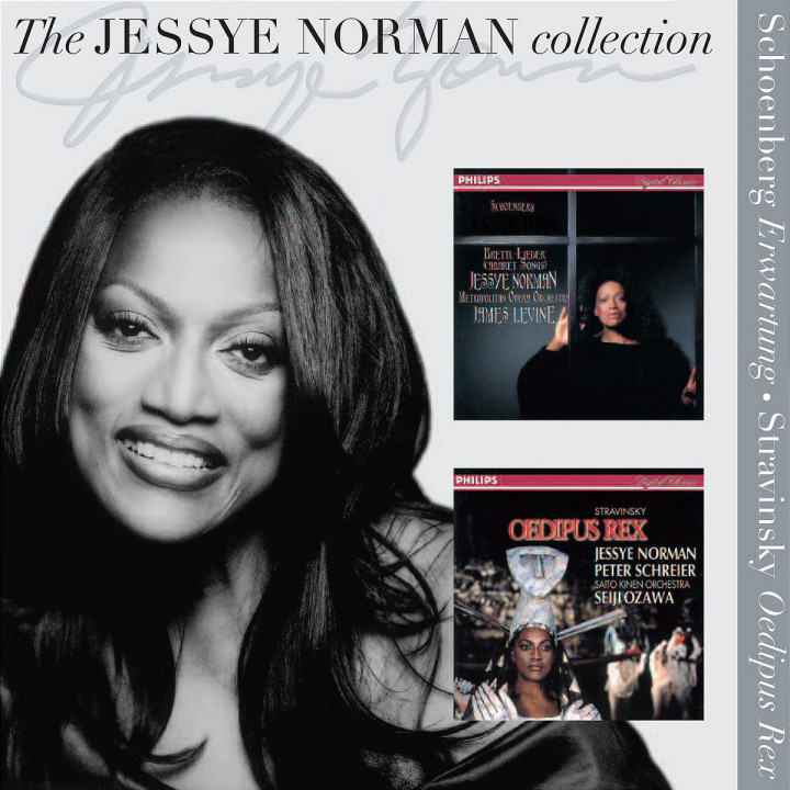 Jessye Norman sings Stravinsky and Schoenberg 0028947563954