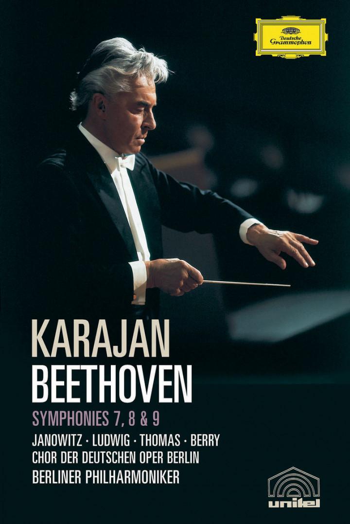 Beethoven: Symphonies 7, 8 & 9 0044007341036