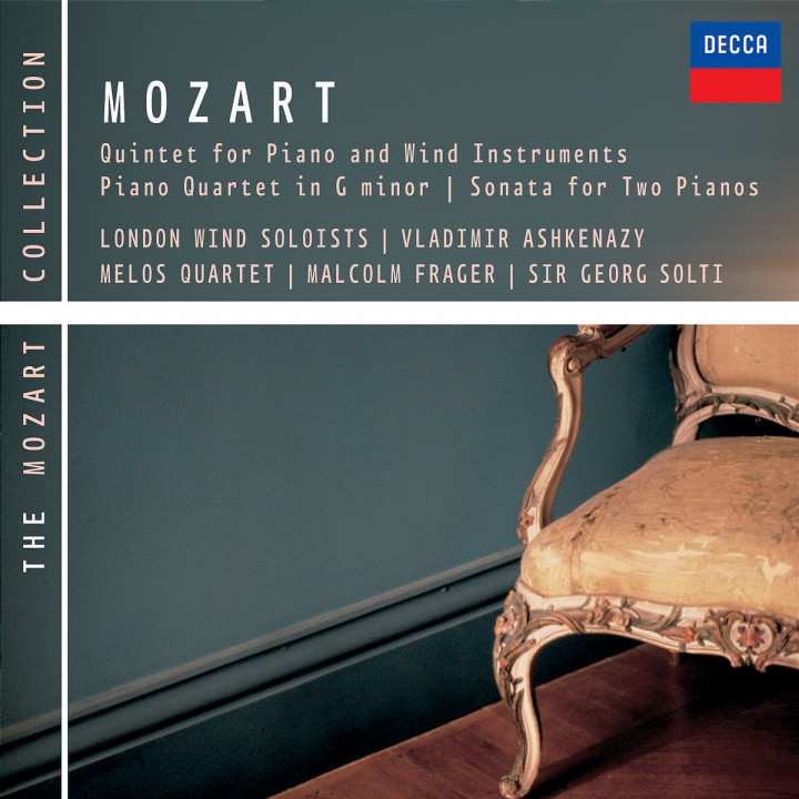 Mozart: Piano & Wind Quintet, Piano Quartet No.1 etc 0028947570541