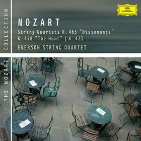 Wolfgang Amadeus Mozart, Streichquartette KV 465, 458 & 421, 00028947757511