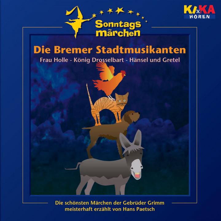 KI.KA Sonntagsmärchen - Die Bremer Stadtmusikanten 0602498718676