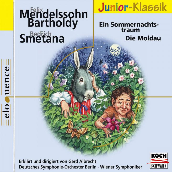 Klassik für Kinder: Ein Sommernachtstraum / Die Moldau 0028947630908