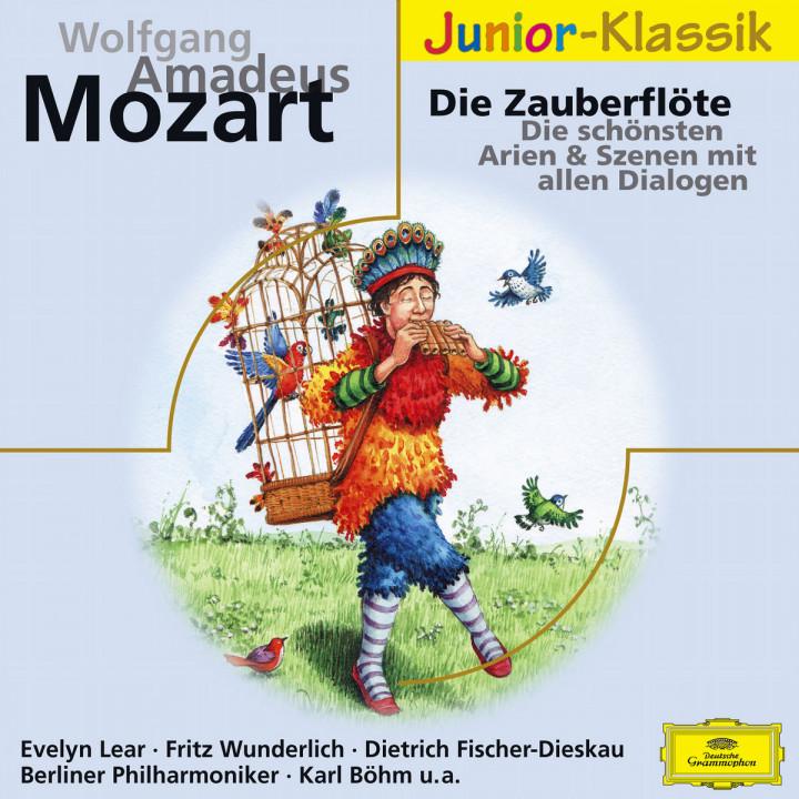 Mozart: Die Zauberflöte - Die schönsten Arien und Szenen mit allen Dialogen 0028947686758