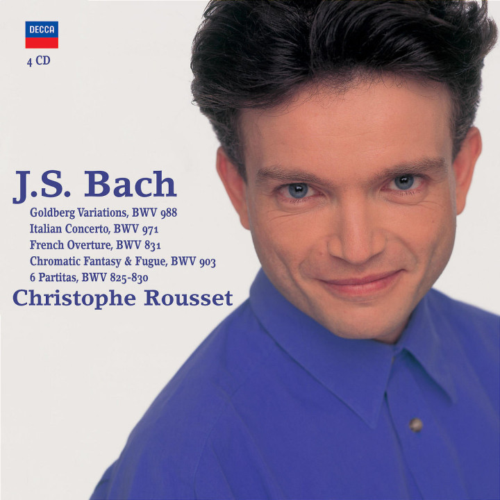 Bach, J.S.: Harpsichord Works 0028947570792