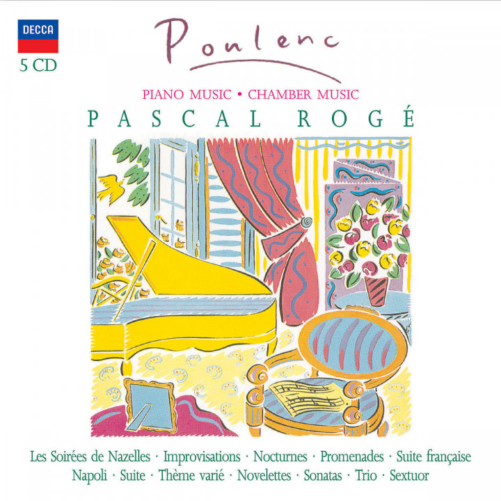 Poulenc:  Piano Music & Chamber Works 0028947570976