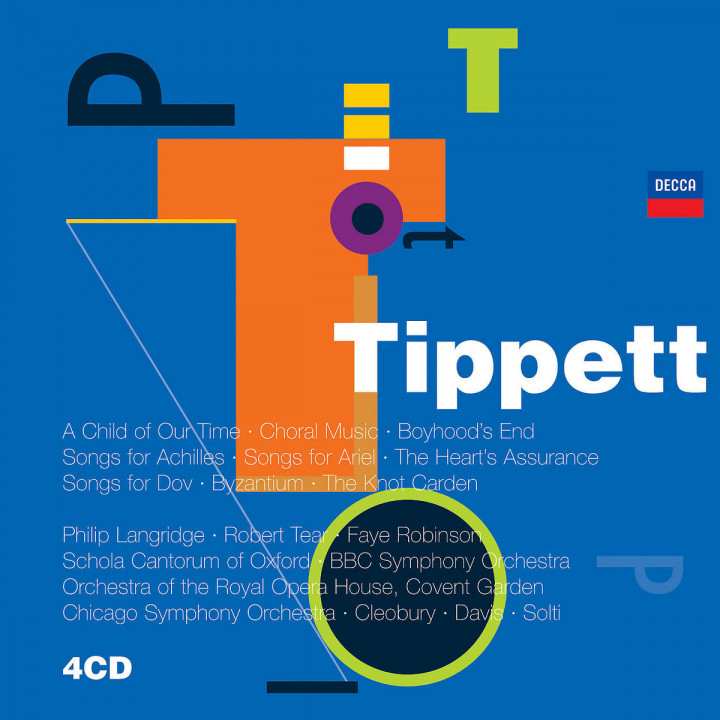 Tippett: Vocal Music 0028947571726