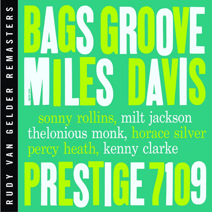 Bags' Groove [RVG Edition] 0025218624525